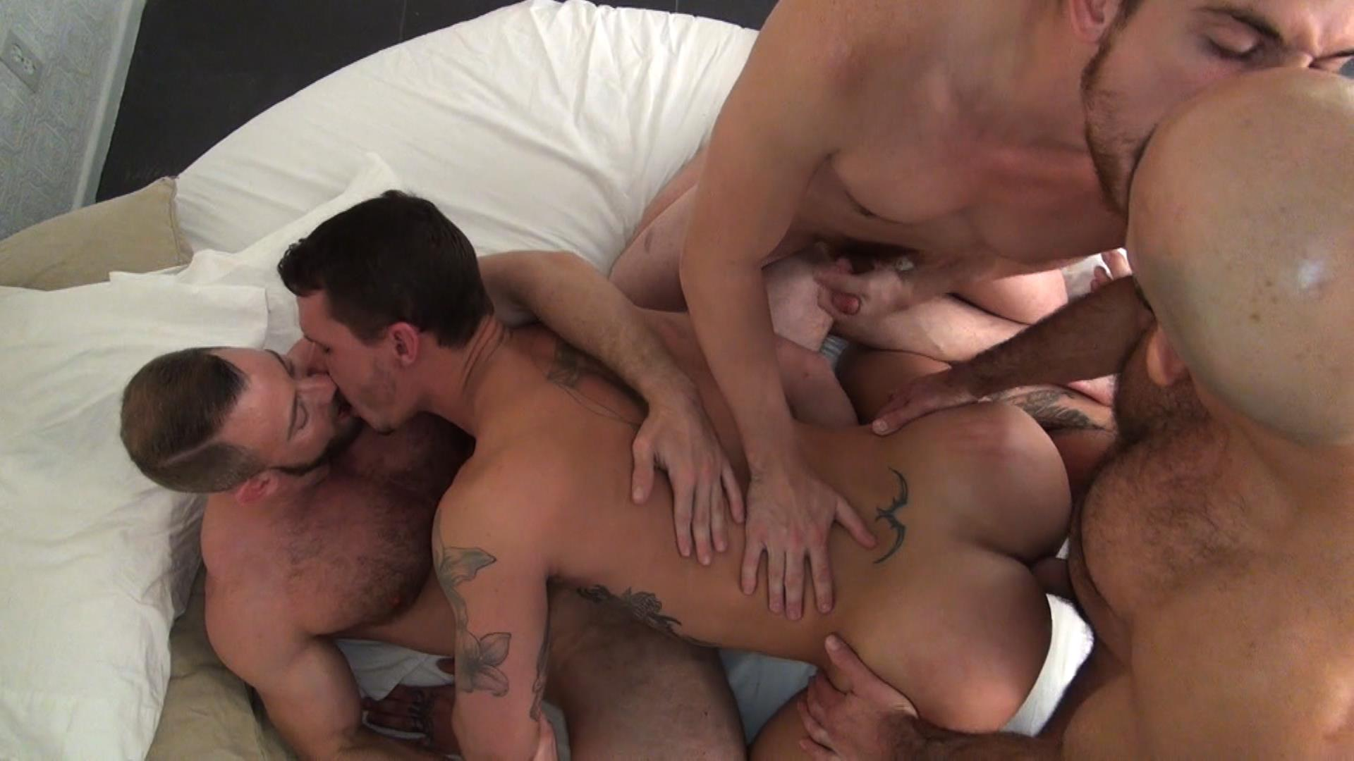 Raw-Fuck-Club-Dayton-OConnor-Tate-Ryder-Shay-Michaels-Adam-Russo-Bareback-Breeding-Amateur-Gay-Porn-7 Tate Ryder Gets Three Hairy Muscle Daddy Bareback Cocks