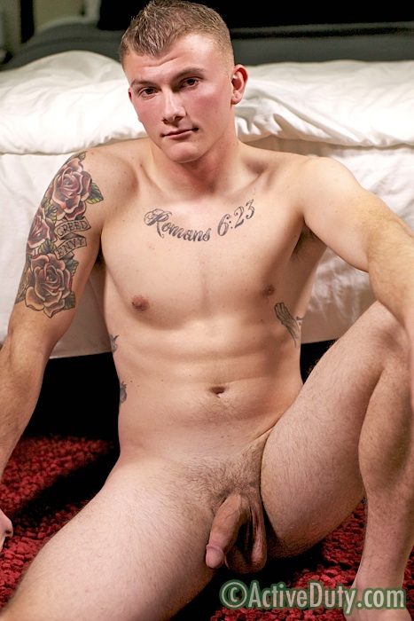 ActiveDuty-Devon-Straight-Army-Guy-Jerking-His-Big-Cock-With-Juicy-Ass-Amateur-Gay-Porn-14 Young Army Private With A Juicy Ass Jerks His Big Cock