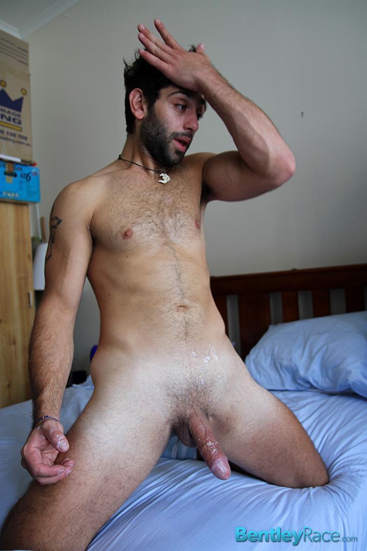Bentley-Race-Adam-El-Shawar-Middle-Eastern-Hunk-Strokes-His-Big-Uncut-Cock-Arab-Amateur-Gay-Porn-19 Straight 24 Year Old Middle Eastern Jock Jerks His Big Uncut Cock