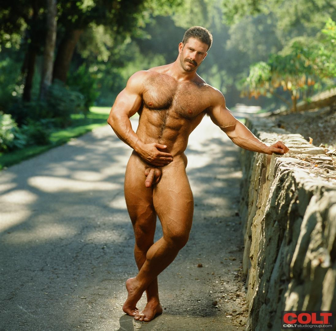 Colt-Studio-Group-Pete-Kuzak-Hairy-Muscle-Hunk-With-Hairy-Cock-Amateur-Gay-Porn-15 Hairy Muscle Hunk Colt Icon Pete Kuzak Showing It All