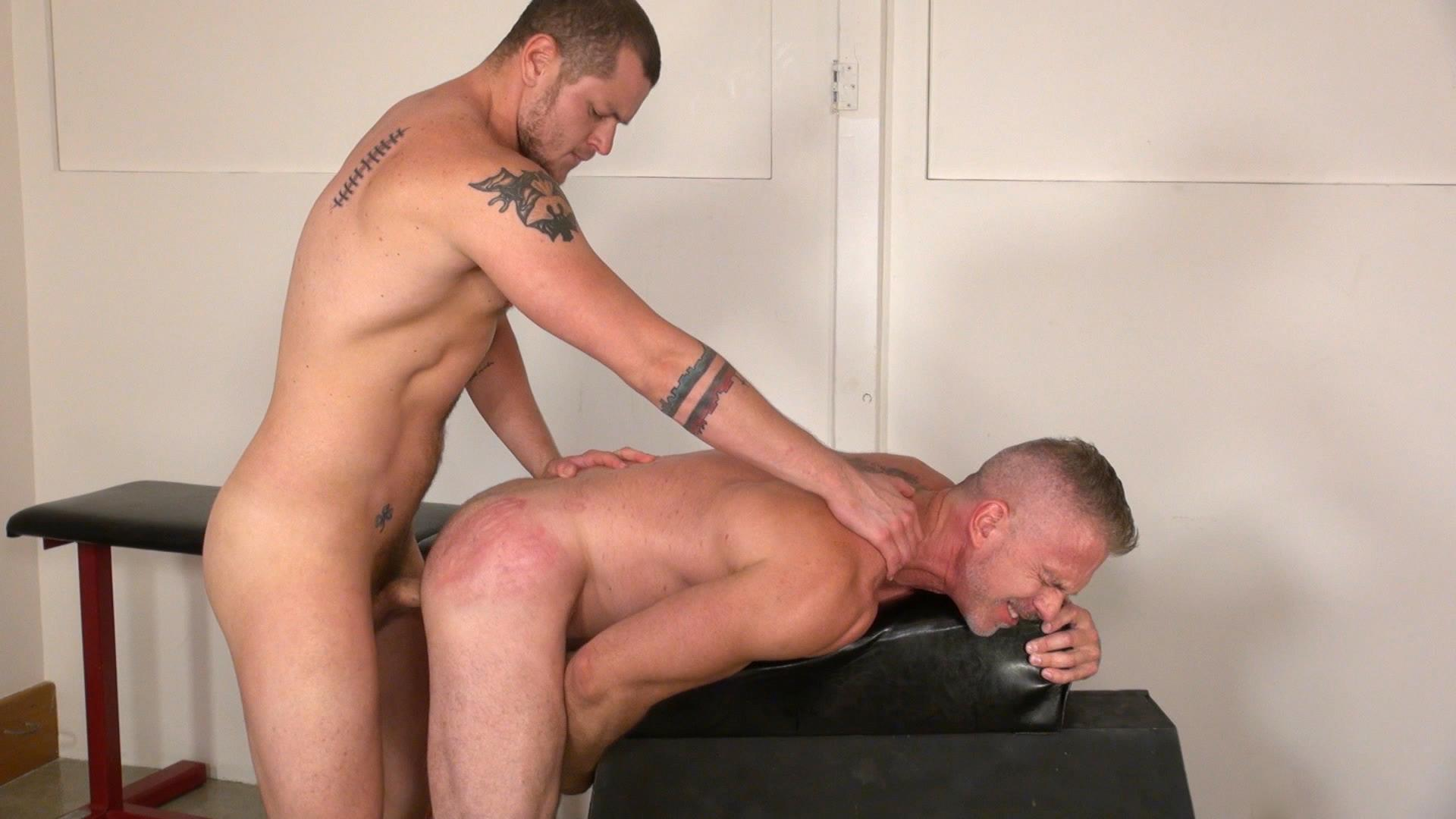 Raw-and-Rough-Sam-Dixon-and-Blue-Bailey-Daddy-And-Boy-Flip-Flip-Bareback-Fucking-Amateur-Gay-Porn-10 Blue Bailey Flip Flop Barebacking With A Hung Daddy