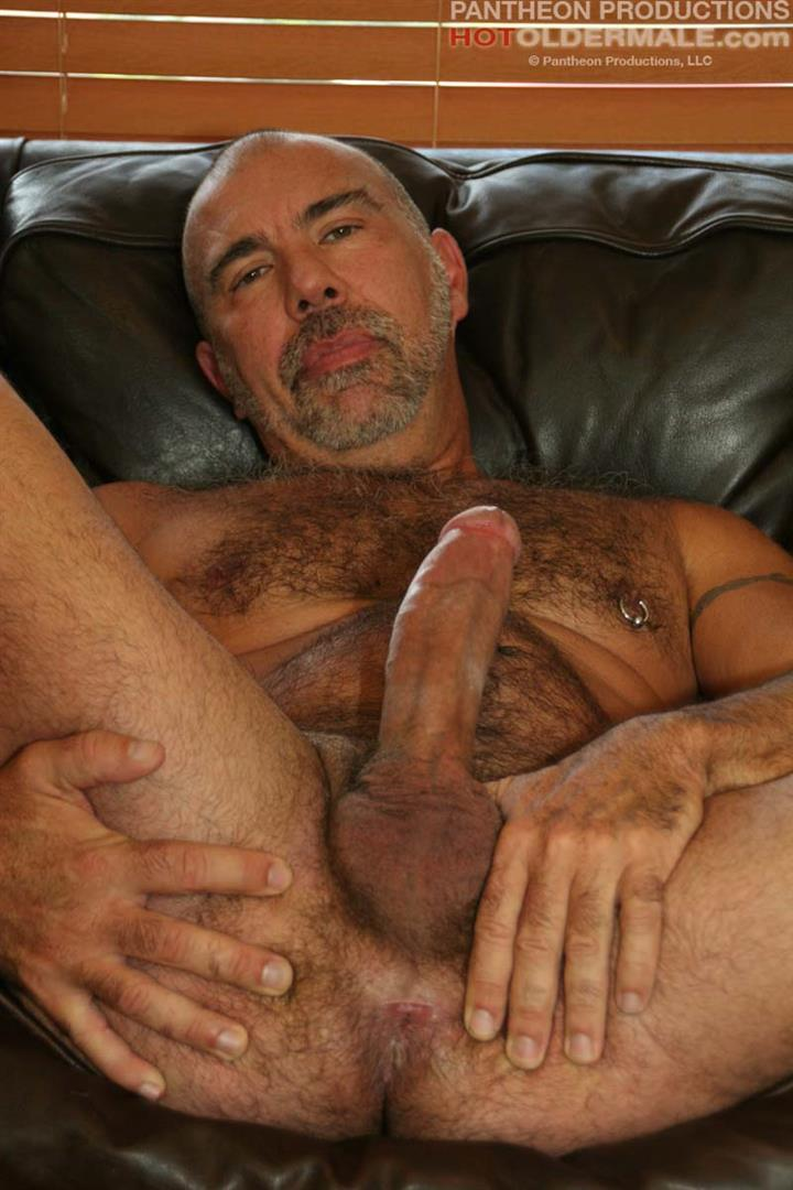 Hot-Older-Male-Jason-Proud-Hairy-Muscle-Daddy-With-A-Big-Thick-Cock-Amateur-Gay-Porn-12 Hairy Muscle Daddy Stroking His Thick Hairy Cock