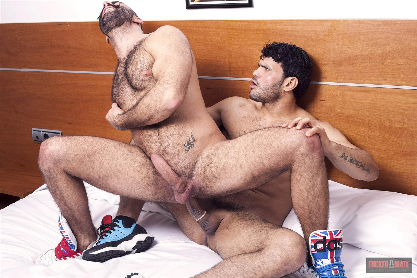 Fuckermate-Jean-Frank-and-Paco-Hairy-Muscle-Hunks-With-Big-Uncut-Cocks-Fucking-Amateur-Gay-Porn-14 Hairy Muscle Italian Hunks With Big Uncut Cocks Fucking Rough