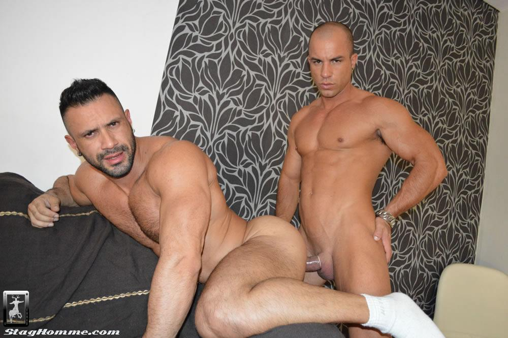 Stag-Homme-Antonio-Aguilera-and-Flex-Big-Uncut-Cock-Muscle-Hunks-Fucking-Amateur-Gay-Porn-21 Drunk Muscle Hunk With A Big Uncut Cock Gets Fucked