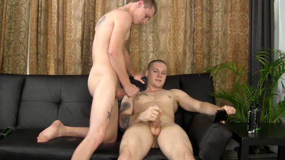 Stroking dick parties gay first time andro 5