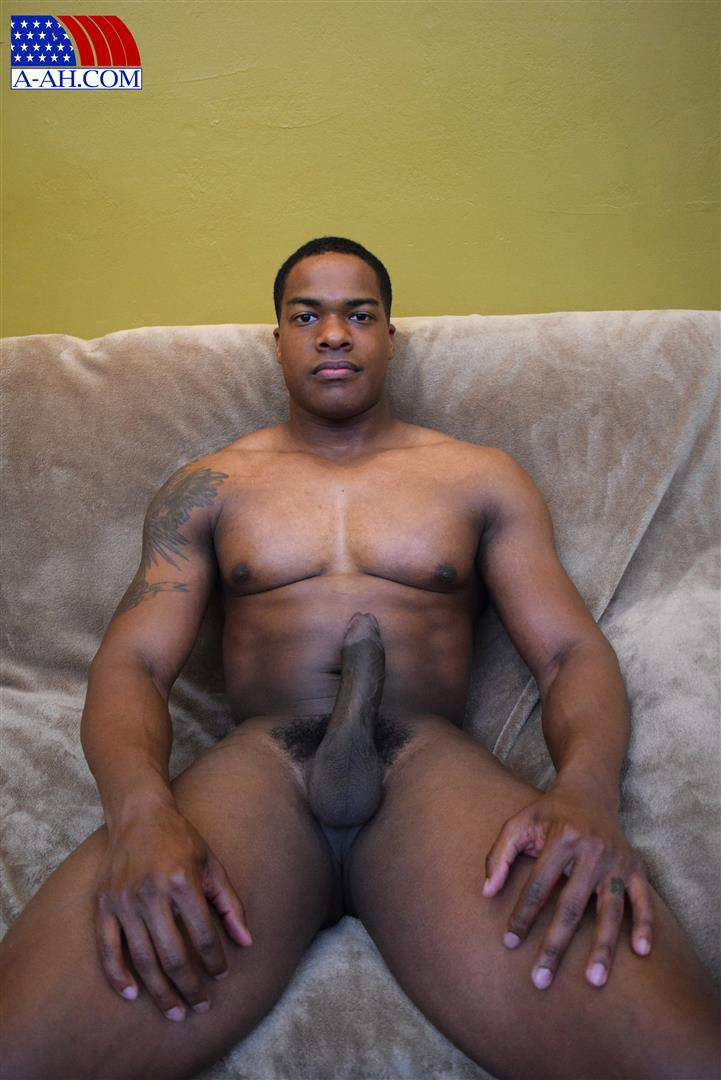 Massive huge black muscle cock gay hot 6