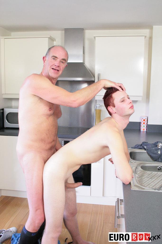Euroboy-XXX-Aiden-and-Ben-Big-Uncut-Cock-Granddad-Fucking-Twink-Amateur-Gay-Porn-16 Granddad Bareback Fucks A 19 Year Old Twink With His Big Uncut Cock