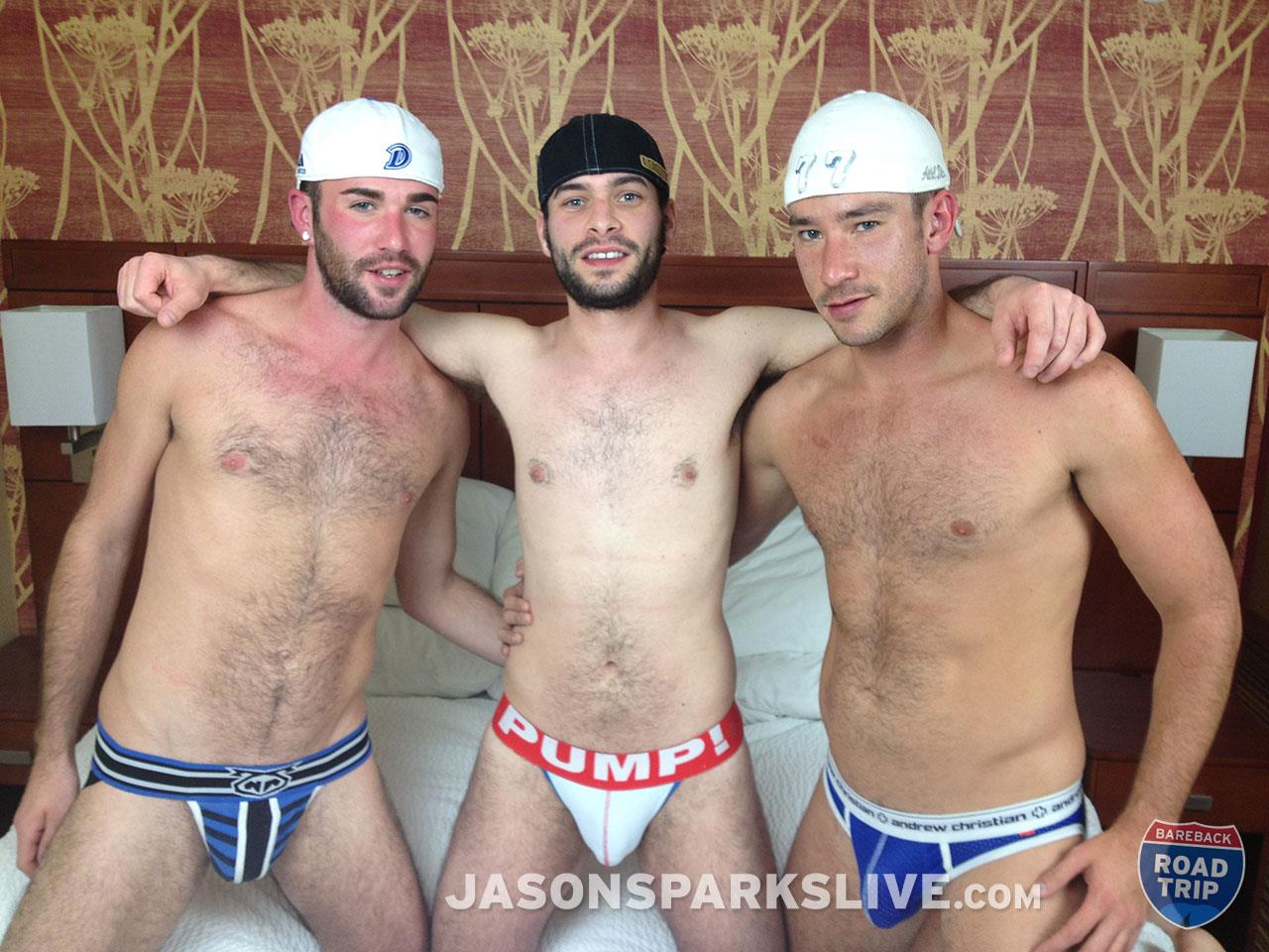 Jason-Sparks-Live-Lucas-Zander-and-Alex-Mason-and-Owen-Powers-Hairy-Twink-Bareback-Threeway-Amateur-Gay-Porn-02 Getting Double Penetrated Bareback In An Iowa Hotel Room