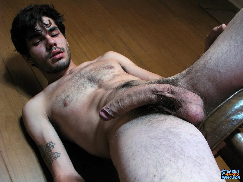Straight-Naked-Thugs-Devin-Reynolds-Hairy-Twink-With-A-Huge-Uncut-Cock-Jerking-Off-Amateur-Gay-Porn-13 Bisexual Indie Guitarist Strokes His Huge Uncut Cock