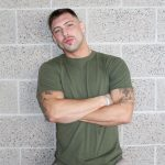 Active-Duty-Calvin-Naked-Muscular-Marine-Jerk-Off-04-150x150 Muscular Inked Up Marine Jerks His Big Dick Until He Cums