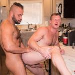 Alpha-Male-Fuckers-Brian-Bonds-and-Damien-Kilauea-Bareback-Gay-Sex-22-150x150 Brian Bonds Getting Fucked In His Kitchen By Damien Kilauea