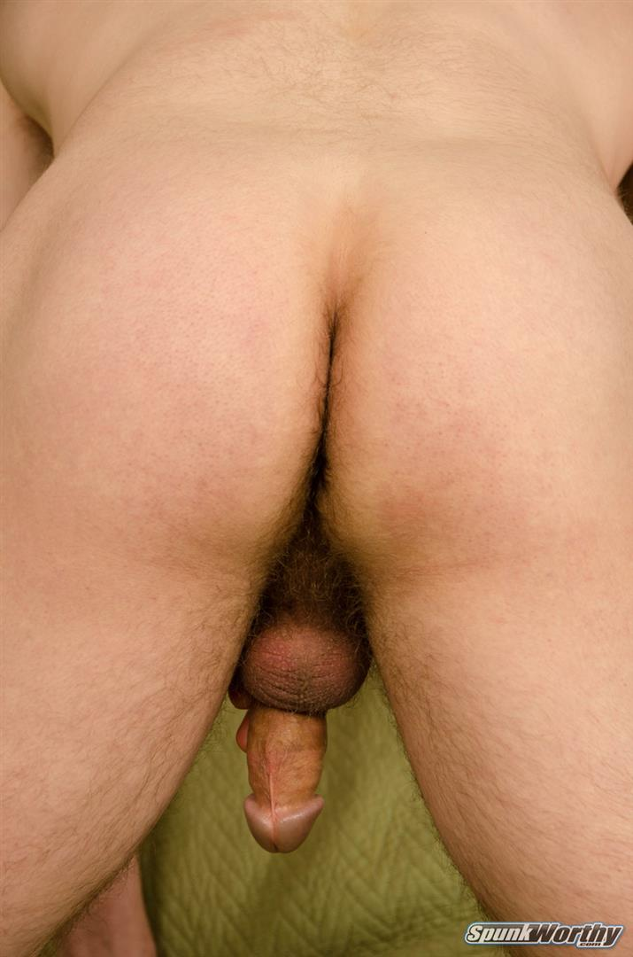 SpunkWorthy-Brett-Naked-Military-Farmboy-Jerk-Off-11 Midwestern Military Straight Farm Boy Masturbating