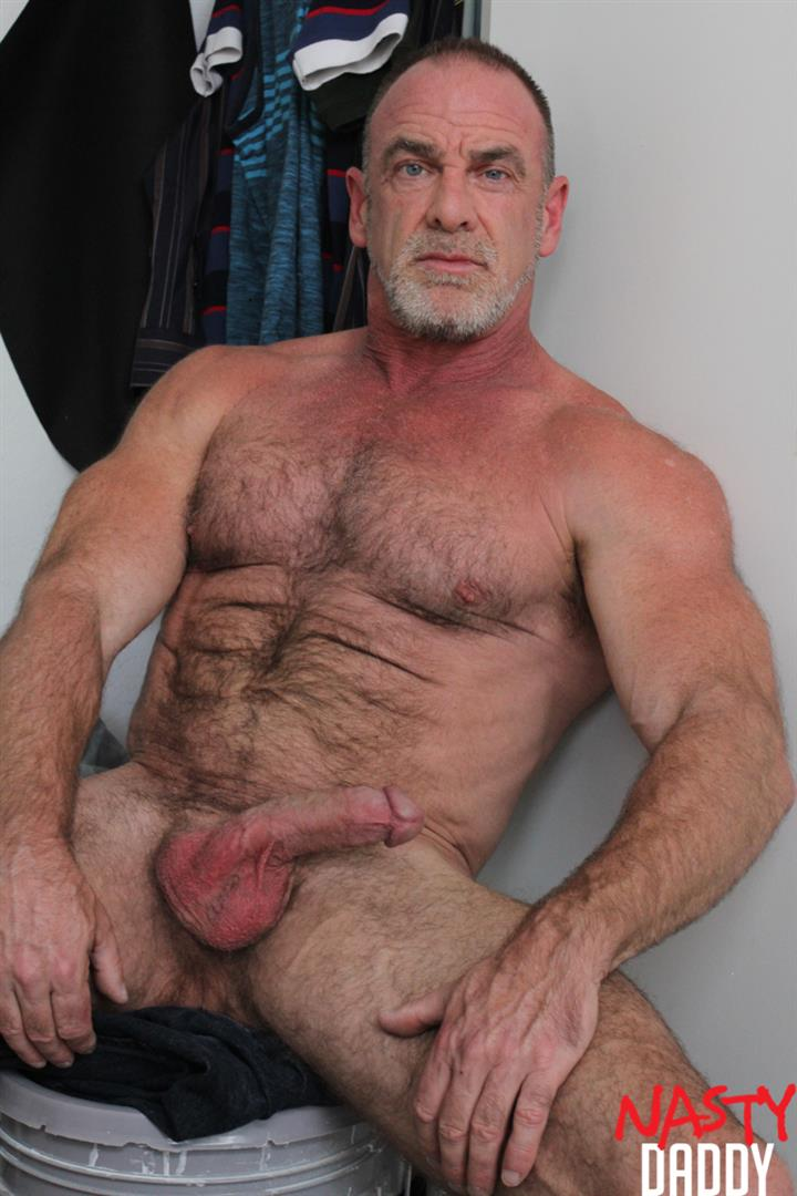 Nasty-Daddy-Trace-OMalley-Hairy-muscle-Daddy-With-Thick-Cock-Jerk-Off-Video-24 Hairy Muscle Daddy Shows Off His Thick Cock And Jerks Off