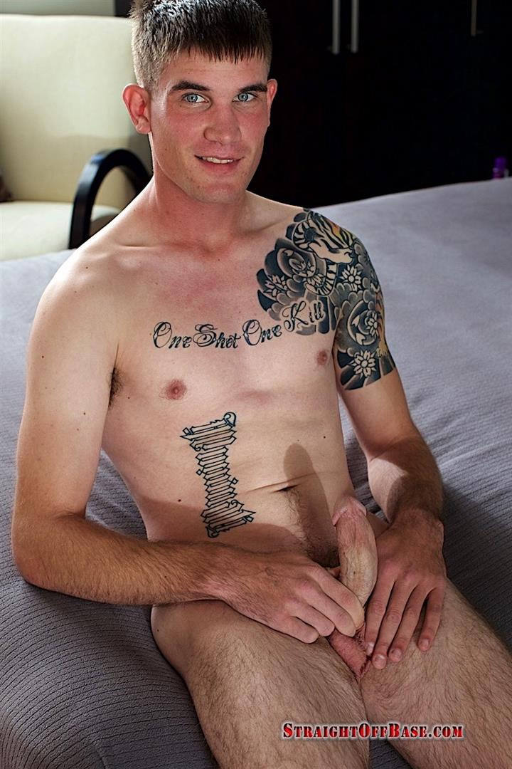Straight-Off-Base-Brady-Naked-Marine-Jerking-Off-Big-Cock-Video-09 Straight Marine Jerks His Big Dick On Camera For Cash