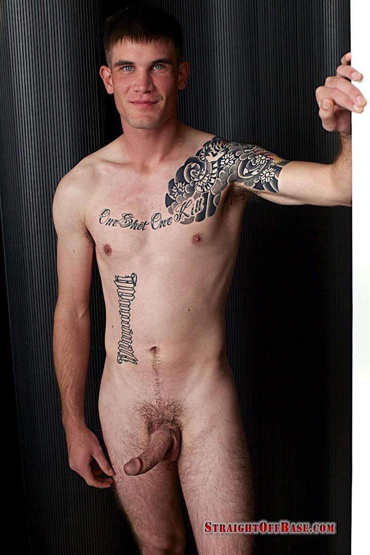 Straight-Off-Base-Brady-Naked-Marine-Jerking-Off-Big-Cock-Video-19 Straight Marine Jerks His Big Dick On Camera For Cash