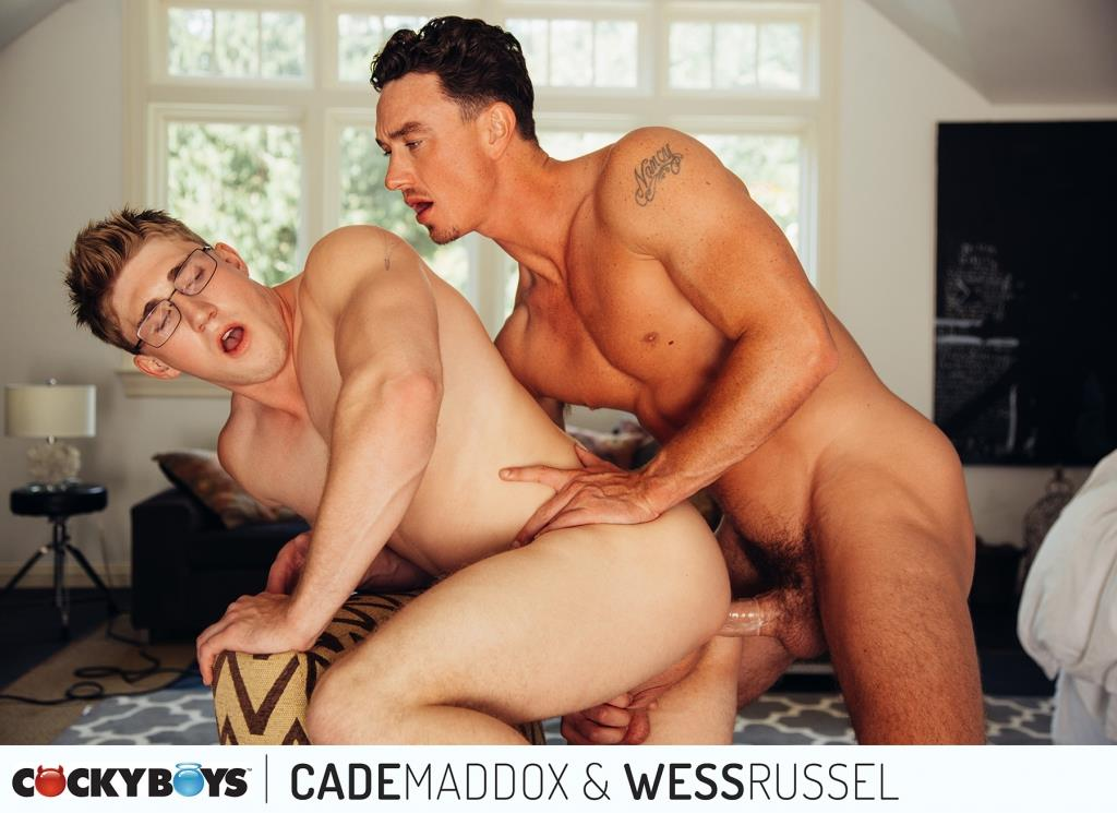 Cockyboys-Wess-Russel-and-Cade-Maddox-Thick-Cock-Muscle-Boys-Fucking-03 Cockyboys: Wess Russel Takes Cade Maddox's Thick Cock