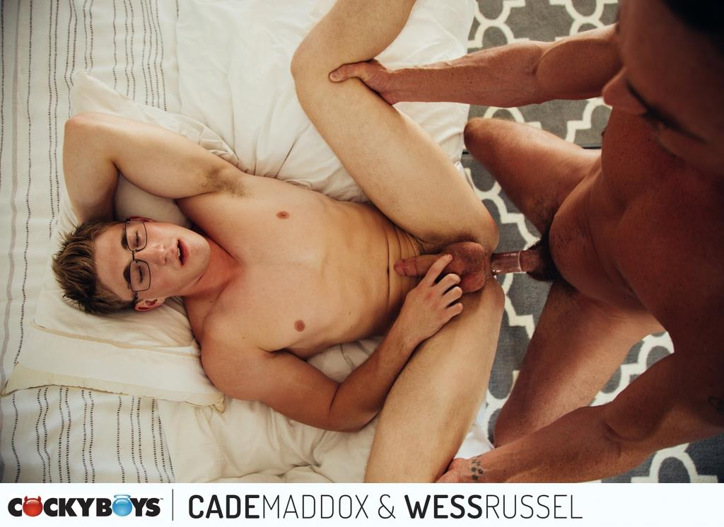 Cockyboys-Wess-Russel-and-Cade-Maddox-Thick-Cock-Muscle-Boys-Fucking-15 Cockyboys: Wess Russel Takes Cade Maddox's Thick Cock