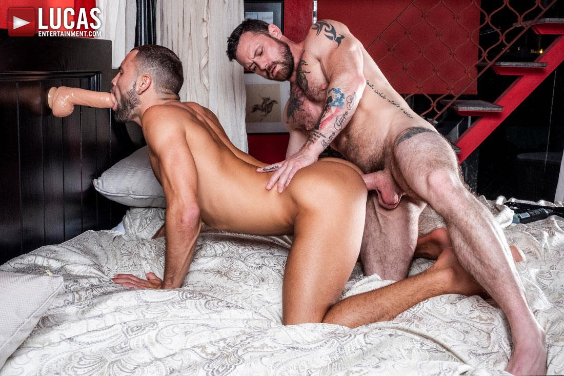 Lucas-Entertainment-Sergeant-Miles-and-Jeffrey-Lloyd-Big-Cock-Bareback-Gay-Sex-13 Jeffrey Lloyd Takes Sergeant Miles' Big Bareback Cock